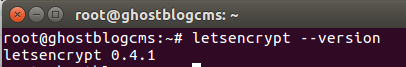 install Ghost Blog CMS on Ubuntu