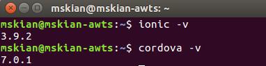 install Ionic Framework on Ubuntu