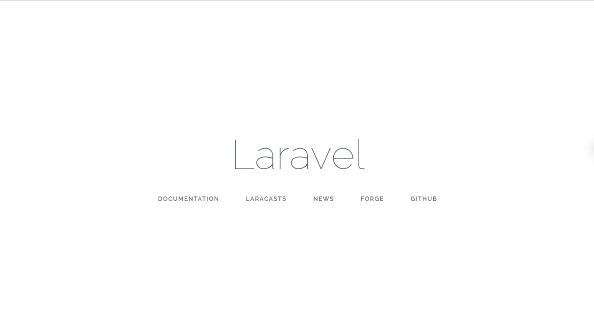 Install Laravel Framework on Ubuntu
